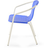 Vittorio Arm Chair in Blue Colour by @ Home