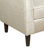 Volga Wing Chair in Cream Colour by Inscape Design