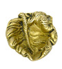 Vyom Shop Brass Ganesh Face Divi