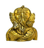 Vyom Shop Brass Ganesh in Pan Shape Wall Hanging