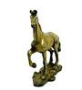 Vyom Shop Brass Horse Showpiece