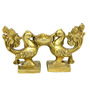 Vyom shop Brass Peacock Diya