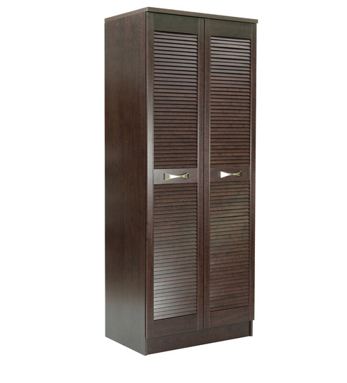 Kiyashin two door wardrobe with shelves drawers in wenge for 1 door wardrobe with shelves