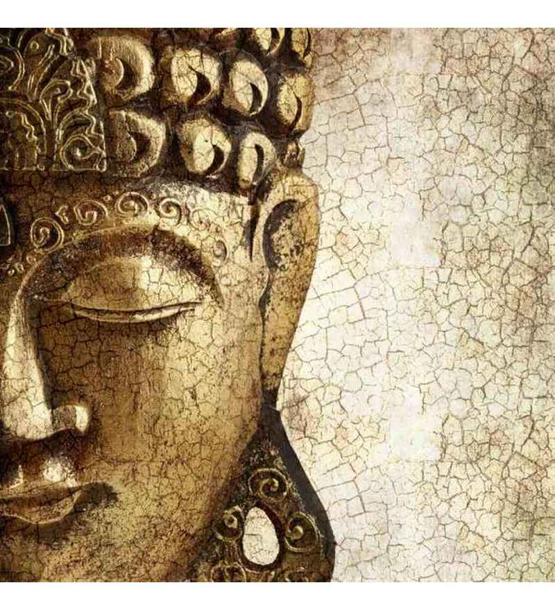 Buy Wall Decor Enlightened Buddha Canvas Painting Online