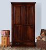 Waldron Wardrobe in Honey Oak Finish by Amberville