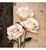 Wall Decor Canvas 24 x 24 Inch Roses Framed Digital Art Print
