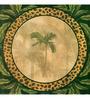 Wall Decor Canvas 24 x 24 Inch Yellow Palm Tree Framed Digital Art Print