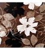 Wall Decor Multicolor Canvas 24 x 24 Inch Abstract Flower Framed Digital Art Print