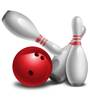 Wall Inc 3D Bowling Pins And Ball Set Sports Themed Wall Decal