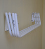 Pull N Dry Wall Mounting Crisscross Metal Clothes Dryer