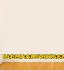 WallTola PVC Vinyl Lovely Sunflower Skirting Wall Sticker