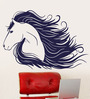 WallTola PVC Vinyl Modern Horse Art Wall Sticker & Decal
