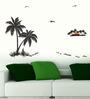 WallTola PVC Vinyl Palm Trees Wall Sticker