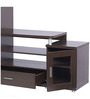 Wall Unit Roger in Dark Walnut Colour by @home