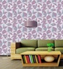 Wallskin Purple Non Woven Paper The Pastel Symmetric Pattern Wallpaper
