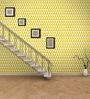 Wallskin Yellow Non Woven Paper The Pattern Wallpaper