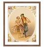 Wallsnart Photographic Paper & Glass Hungarian Dance Framed Art Print