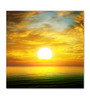 Wallsnart Photographic Paper Sun Rise Over The Sea Unframed Art Print