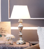 Walter Table Lamp in White by Amberville