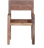 Elkhorn Solid Wood Armchair in Natural Mango Wood Finish by Woodsworth