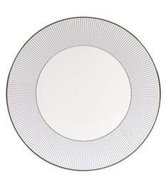 Wedgwood Jasper Conran Blue Stripe Bone China Dinner Plate