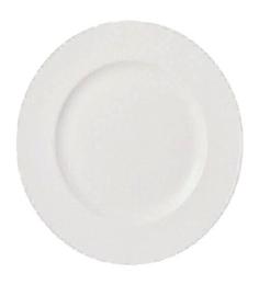 Wedgwood White Bone China Dinner Plate