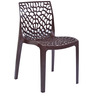 Web Chair Set of Four in Globus Brown Colour by Supreme