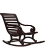 Wellesley Rocking Chair in Passion Mahogany Finish by Amberville