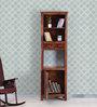 Glentana Book Shelf in Provincial Teak Finish by Woodsworth