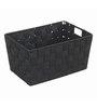 Wenko Adria Box Black Polypropylene Box