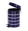Wenko Cosmetic Pedal Bin Marine Blue, 3 L