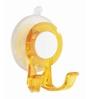 Wenko Plastic orange Suction hook Paradise