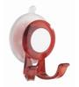 Wenko Plastic red Suction hook Paradise