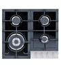 Whirlpool Tempered Glass & Aluminium 4 Burner Hob (Model: AKCG 640)