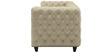 William Three Seater Sofa in Beige Colour by ARRA