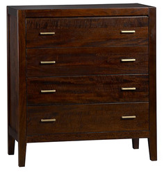 William Chest Of Drawers in Brown Colour by Asian Arts
