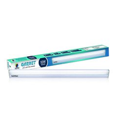 Wipro Cool White 10W Garnet LED Batten 6500K - Set of 2