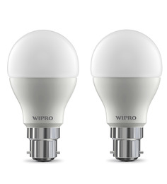 Wipro 6500K 9W LED Bulb - Set of 2