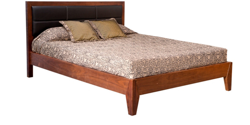 Windsor King Bed in Walnut Colour by Forzza