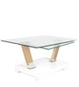 Will High Gloss Centre Table in White Colour by HomeTown