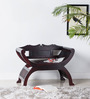 William Arm Chair in Passion Mahogany Finish by Amberville