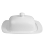 Wilmax England Rectangle Porcelain Butter Dish