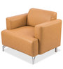 Windsor One Seater Sofa in Beige Colour by Durian