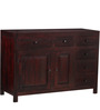 Winona  Sideboard in Passion Mahogany Finish by Woodsworth