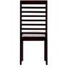 Winona Dining Chair in Passion Mahogany Finish by Woodsworth