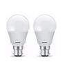 Wipro B22 Warm White 9 W LED Bulbs - Set of 2