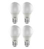Wipro Warm White 3 W E27 LED Bulb - Set of 4