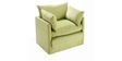 Fold-Out Single Bed in light Green Colour by Furny