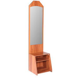Woodz Dressing Table in English Teak Finish by Kurl-On