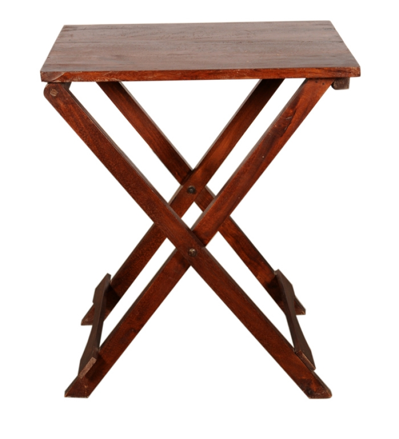 wood folding table wooden folding table with tray by mudramark 31066